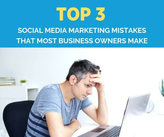 image of social media marketing mistakes